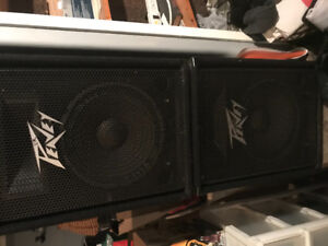 Peavey passive speakers