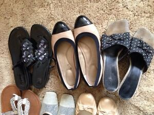 Gorgoes Woman's Dress Shoes 6 for 30. Must sell