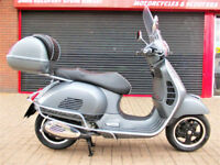 PIAGGIO VESPA GTS 300 SUPER SPORT 2015 ONE OWNER FDSH ONLY 744 MILES HPI FINANCE