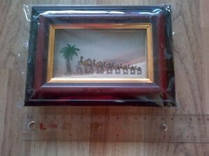 Memories Unperished: Natural Colour of Sands. Framed. Handmade.