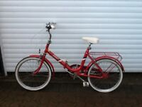 Retro BSA folding bike - very good condition for age