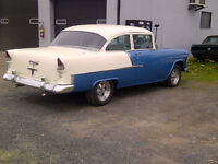 Priced to Sell 1955 Chev 2dr 210 post