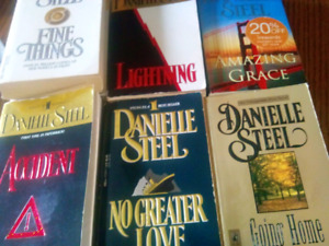 DANIELLE STEELE BOOKS