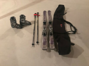 Womens Atomic Downhill Ski Package-Reduced Price