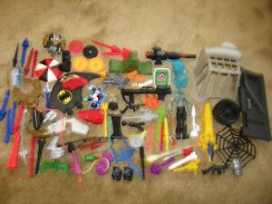 Huge lot of Action Figure accessories