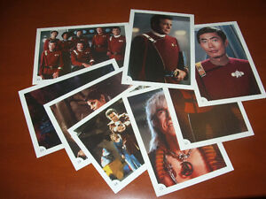 Star Trek 5x7 Collectable Cards