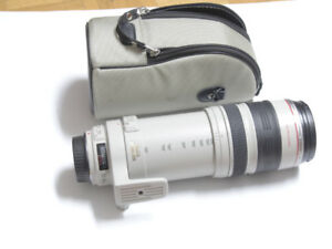 Canon Zoom lens EF100-400mm I:4.5-5.6 L. IS