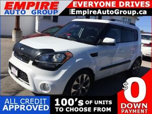 2013 KIA SOUL + * HEATED SEATS * MOONROOF * VOICE COMMAND * USB