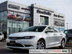 2015 Chrysler 200 Limited, Extended Warr, Rust Proofed, 46,900 K