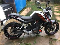 KTM Duke ABS (2014) REDUCED FOR QUICK SALE