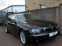 "06 06 BMW 730D SPORT SE LWB AUTO 4DR LOW MILEAGE LEATHER SATNAV 19"" ALLOYS FSH"