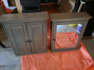 Vanity cabinets Table chair dresser microwave bed frame and more