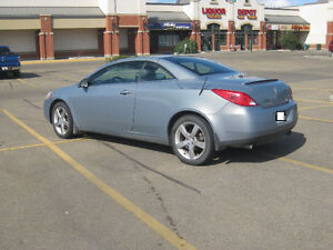2007 Pontiac G6 GT Convertible with 4 winter tires & steel rims