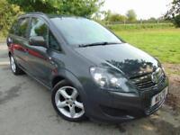2013 Vauxhall Zafira 1.6 i VVT 16v Exclusiv 5dr Sensors! Climate! FVSH! 5 do...