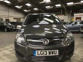 Vauxhall Zafira Exclusiv Mpv 1.6 Manual Petrol