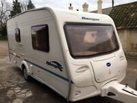 Bailey Ranger 460/ 2004 Caravan . 2 Berth. Lightweight. Excellent Condition! With Awning