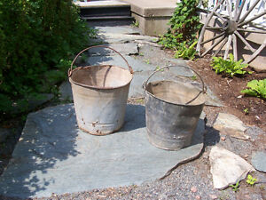 Antique Galvanized Buckets  $15 EACH