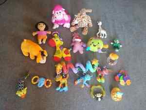 Lot of baby toys (Sophie and cloud b soothing giraffe included)  Gatineau Ottawa / Gatineau Area image 1