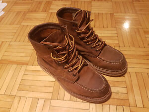 Red Wing 1907 Classic Moe Boots 7.5