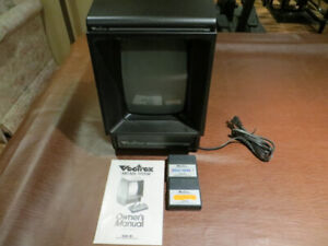 Vectrex Console with 2 Cartridge Games and Owner's Manual