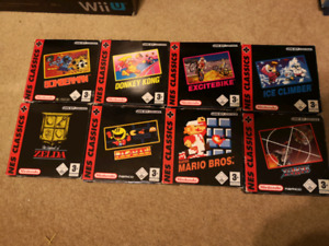 GBA NES Classic PAL Boxed Lot