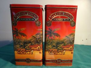 1994 Appleton Jamaica Rum AND Tia Maria TINS