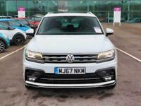 2017 Volkswagen Tiguan 2.0 TDi 150 4Motion R-Line 5dr DSG Auto Estate Diesel Aut