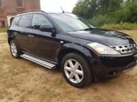 Nissan Murano 3.5 V6 X-Tronic CVT (4x4 jeep) CHEAP CAR ...... ☎️07772125703☎️