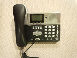 3 - Corded TWO LINE Phones