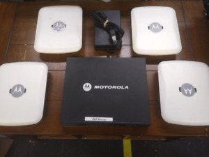 Wireless Motorola RFS 4000 With POE Access Points