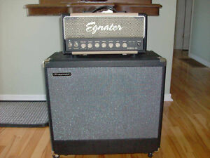 Egnater Rebel 20 Head and Traynor 1 X 12 Cabinet For Sale