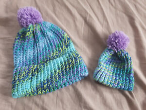 Mommy & Me Matching Hat Set
