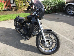84 Honda Magna V45 bobber. Extremely clean and low K