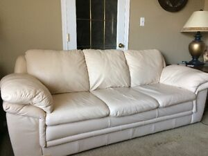 Leather Couch & Loveseat - Very Good Deal Edmonton Edmonton Area image 1