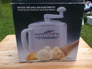 Donvier 1 Qt Ice Cream Maker, No Ice, Salt Or Electricity Needed