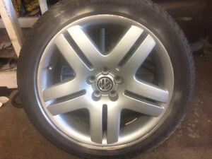 VW RIMS & TIRES FOR SALE Windsor Region Ontario image 2