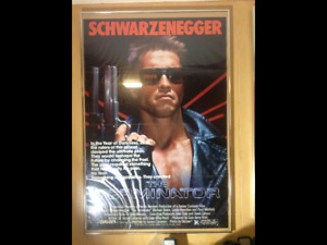 Arnold Schwarzenegger 8 original movie theartre posters