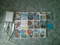 Nintendo Wii with 17 games and a whole lot more
