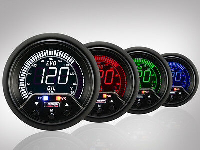 Prosport Öltemperatur Anzeige EVO Premium Serie 60mm