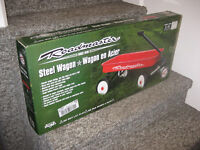Roadmaster Classic 34' Red Steel Wagon (New, Sealed)