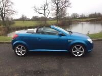 Vauxhall Tigra, hard top convertable, low miles, long mot