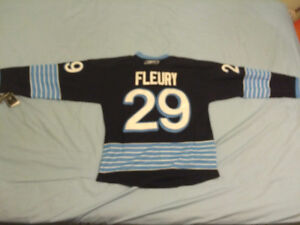NEW Marc-Andre Fleury Pittsburgh Penguins Winter Classic Jersey