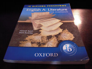 IB Diploma Programme English A. Literature: Course Companion