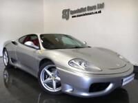 2000 Ferrari 360 modena F1 **39k Full history** Stunning example