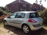 Renault Megane Spares or repairs no MOT