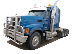 2013 MACK PINNACLE RAWHIDE TRIDRIVE  Cash/ trade/ lease to own