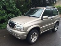 SUZUKI GRAND VITARA 4x4 FULL MOT FULL SERVICE HISTORY FIRST TO SEE WILL BUY