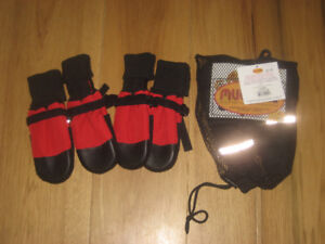 2 Pairs of dog Muttluks size Large, never used, paid $55