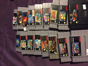 Snes and 17 games