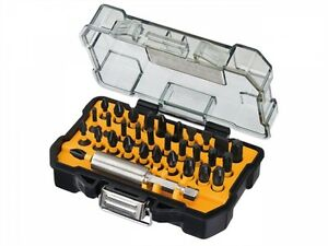 DeWalt 32pc *EXTREME IMPACT Screwdriver Bit Set Inc Magnetic Bit Holder DT70523T